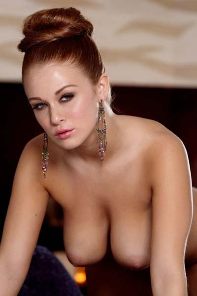 Model Leanna Decker in Girl on Fire