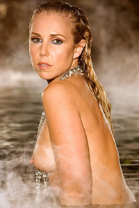 Model Holly Randall in Smoke On The Water