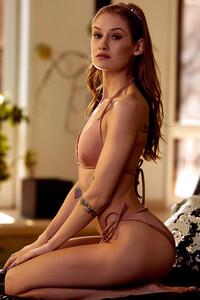 Model Tiffany Tatum in Poolside Treat